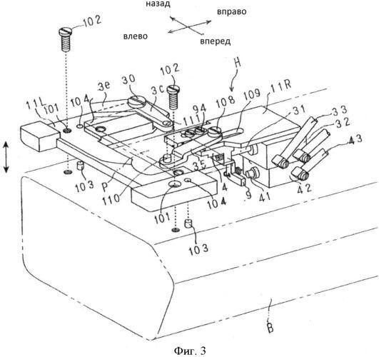 Швейная машина с многониточным цепным стежком и устройством предотвращения распускания шва