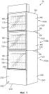 Модульная холодильная витринная система товаров