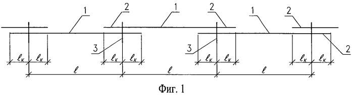 Многопролетная неразрезная балка (варианты)