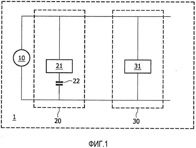 Устройство с цепями светоизлучающих диодов