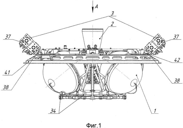 Модульная двигательная установка малой тяги