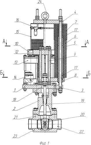 Привод для трубопроводной арматуры