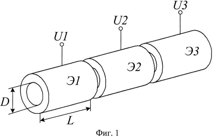 Электростатическая линза со стабильным фокусным расстоянием