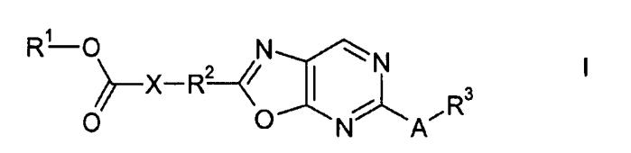 Производные карбоновой кислоты, содержащие 2,5-замещенное оксазолопиримидиновое кольцо