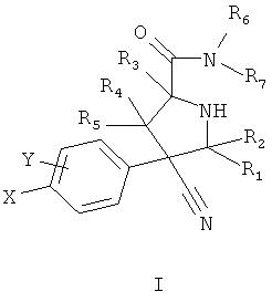 Замещенные пирролидин-2-карбоксамиды