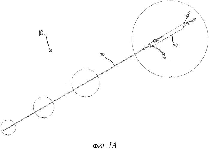 Система доставки стента с узлом толкателя
