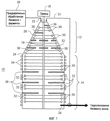 Ферментный реактор или смеситель и способ его использования