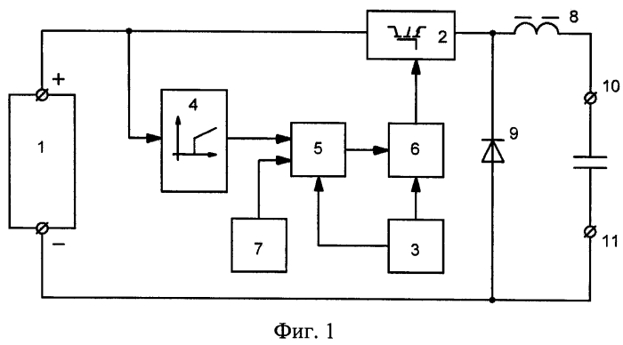 Устройство для ограничения зарядного тока конденсатора нагрузки