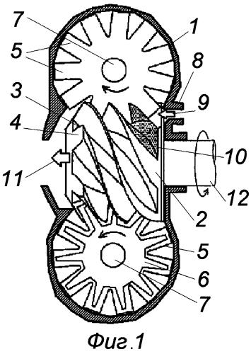Роторный механизм