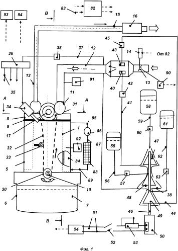 Дизельный двигатель и способ его работы