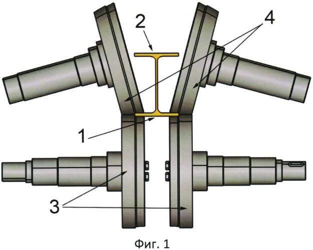 Устройство для закругления кромок двутавра