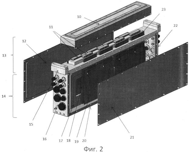 Герметичный фокальный узел блока оптико-электронного преобразования