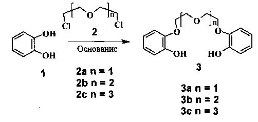Способ получения бис(2-гидроксифенил)ового эфира олигоэтиленгликоля в виде моногидрата