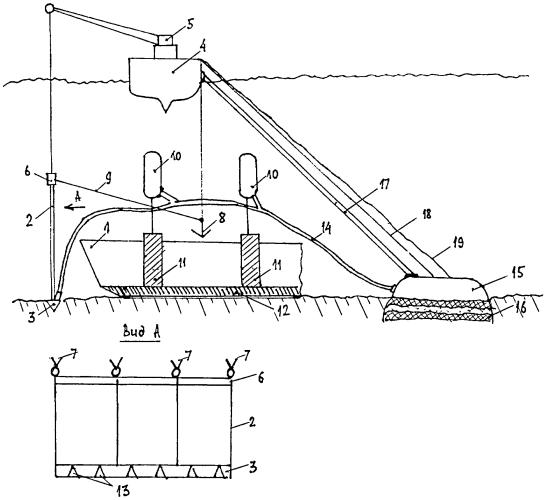 Способ подъема затонувшего судна и комплекс для подъема и транспортирования затонувших подводных лодок и других судов