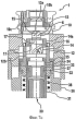 Процесс и оборудование для изготовления стеклянного контейнера с горлышком, имеющим внутреннюю резьбу
