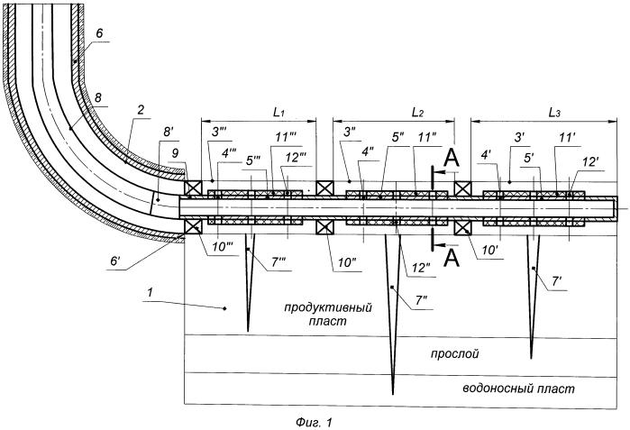 Способ заканчивания строительства добывающей горизонтальной скважины с проведением поинтервального гидравлического разрыва пласта