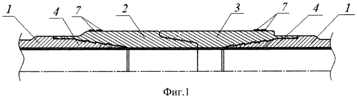 Конструкция бурильной трубы и способ ее изготовления