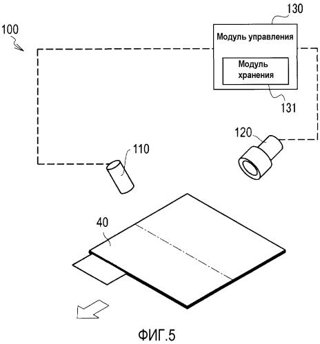 Устройство определения складок и способ определения складок