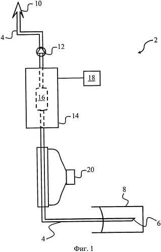 Спектральный анализ текучего неоднородного вещества в среднем инфракрасном диапазоне