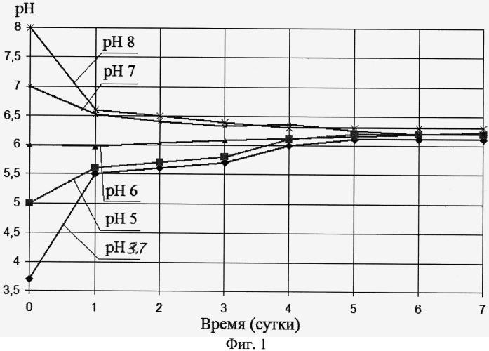 Способ определения оптимального значения ph для прорастания семян белого люпина
