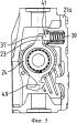 Исполнительный механизм с нажимной штангой для компактных модулей с суппортом дискового тормозного механизма с резьбовой деталью, опирающейся непосредственно на корпус исполнительного механизма