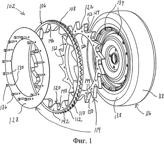 Устройство для предотвращения пробуксовывания транспортного средства, имеющего колеса