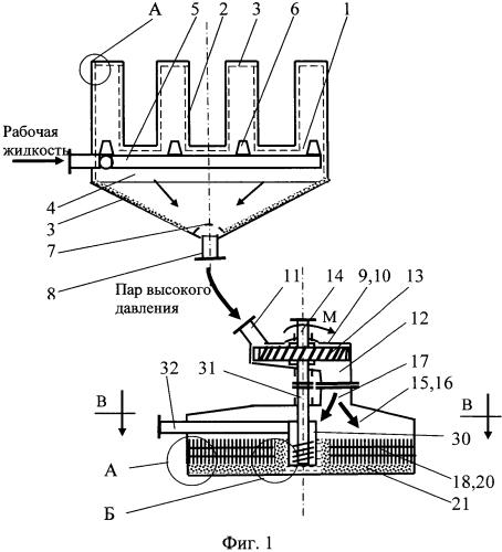 Мультитеплотрубная паротурбинная установка с капиллярным конденсатором