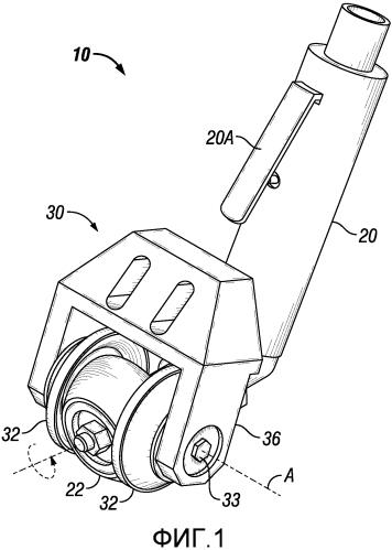 Обрабатывающий профилированную плоскость шероховальный инструмент для ремонта шины
