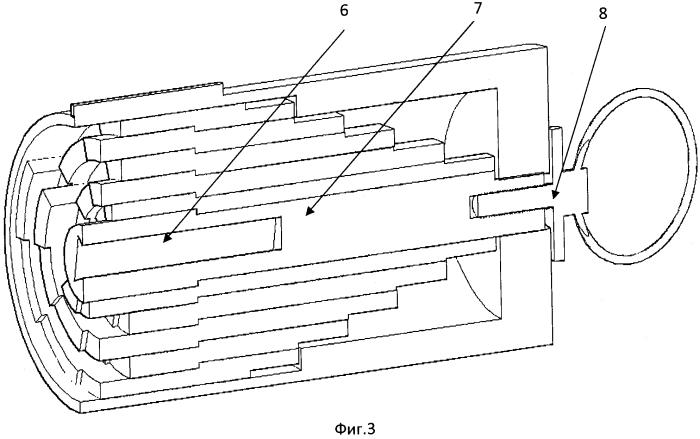 Телескопический ключ с изменяемым кодом
