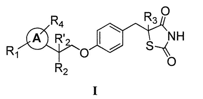 Соли тиазолидиндиона со сниженным сродством к ppar для лечения нарушений обмена веществ