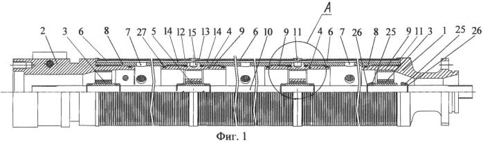 Модульная секция погружного центробежного насоса