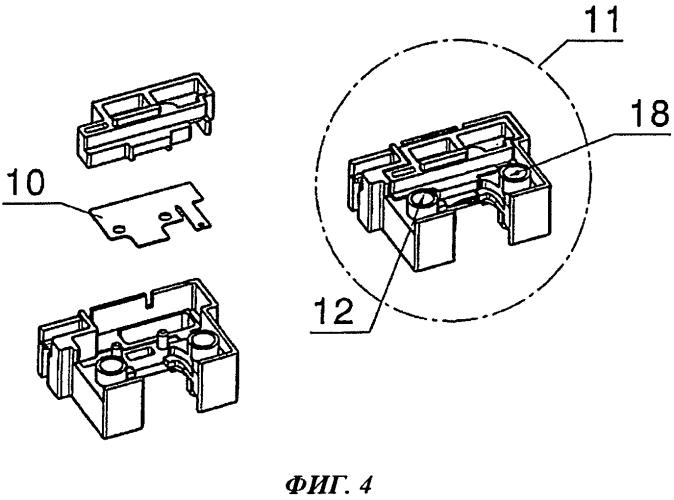 Конструкция искрового разрядника с двумя преимущественно плоскими электродами, расположенными с промежутком в корпусе напротив друг друга