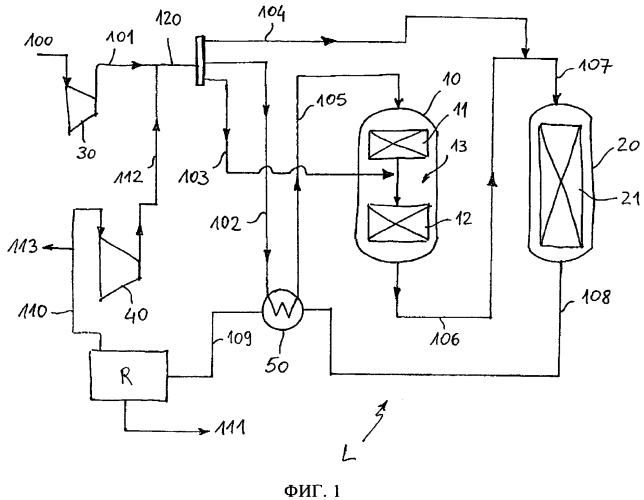 Способ и установка для получения метанола с использованием изотермических каталитических слоев