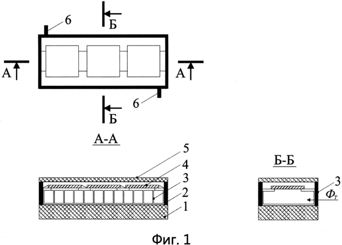 Солнечная батарея для генерации электрических и тепловых потоков