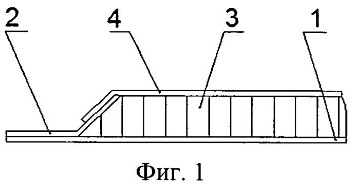 Способ изготовления трехслойной панели из композиционного материала