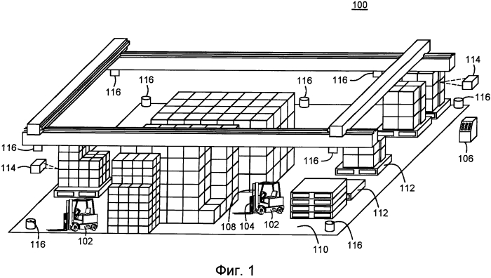 Способ и система использования отличительных ориентиров для определения местонахождения промышленных транспортных средств в начале работы