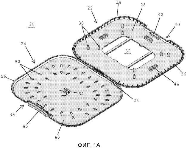 Упаковки для нитей, обеспечивающие свободное извлечение хирургических нитей, и способы размещения нити в упаковке