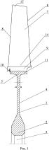 Рабочее колесо ротора компрессора низкого давления турбореактивного двигателя (варианты)