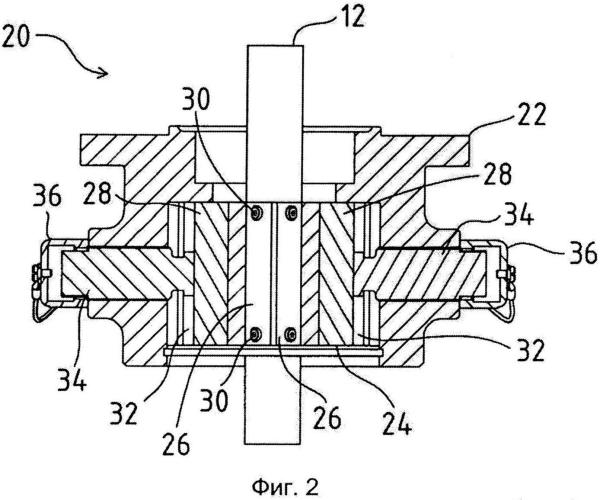 Устройство для стопорения трансмиссии погружного насоса для скважин от нежелательного вращения