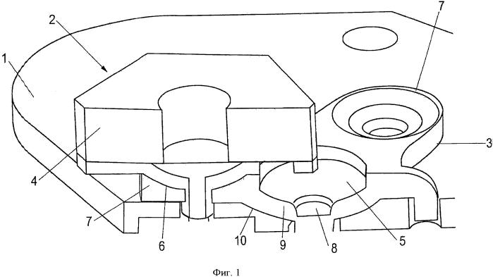 Накладка тормозной колодки для дискового тормозного механизма