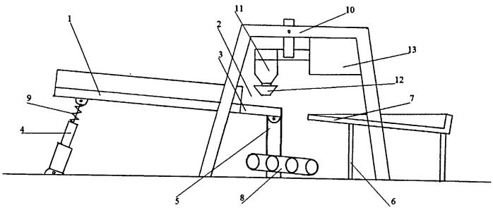 Агрегат для переработки железобетонных конструкций