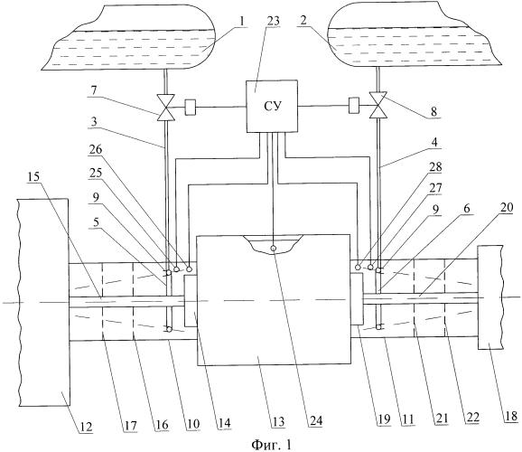 Установка для предотвращения горения и детонации водорода