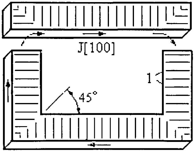 Способ обработки шихтованного магнитопровода стержневого трансформатора