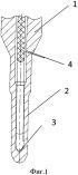 Способ контроля качества монтажа внутриреакторных термодатчиков