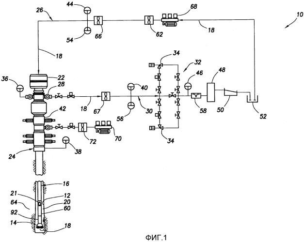 Бурение с оптимизацией давления непрерывной бурильной колонной насосно-компрессорных труб
