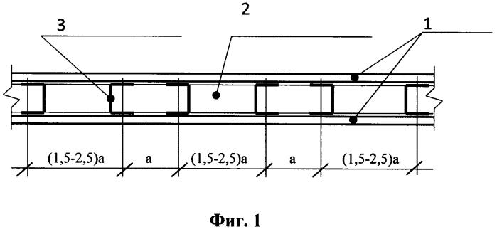 Звукоизолирующая каркасно-обшивная перегородка с равнопеременным шагом стоечных профилей