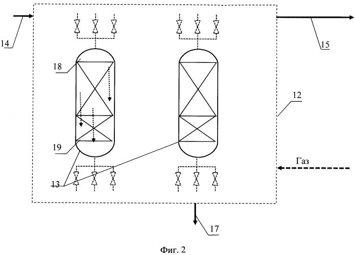 Установка подготовки углеводородного газа к низкотемпературной переработке