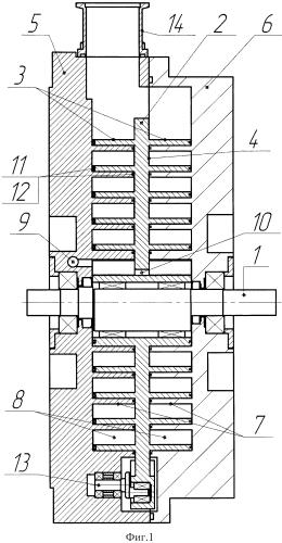 Безмасляная спиральная машина
