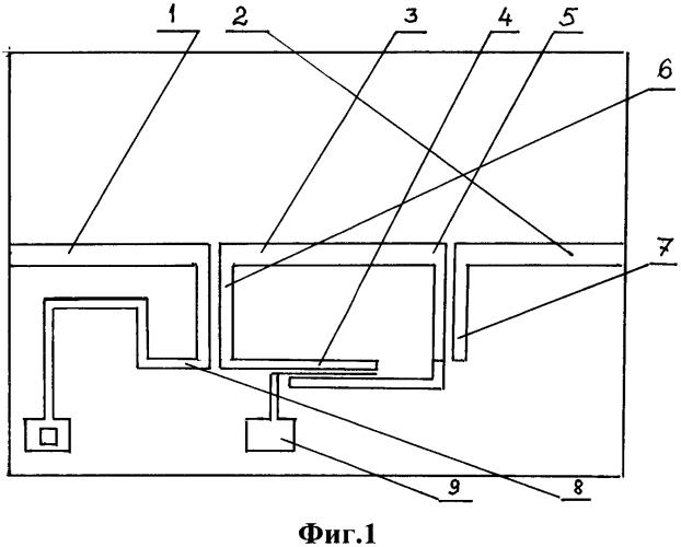 Полосно-пропускающий перестраиваемый фильтр свч