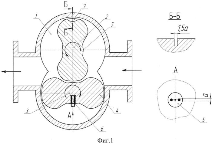Способ определения температуры газа в рабочей полости роторной машины